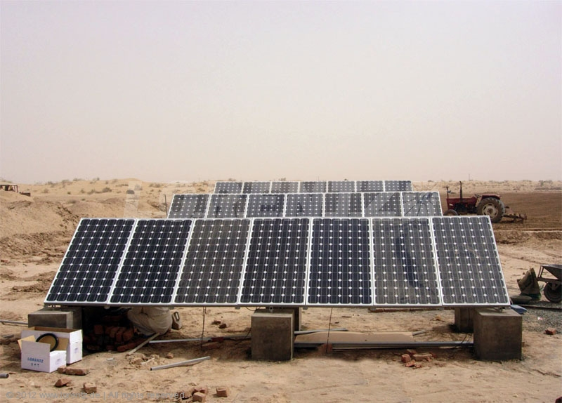 Solar Water Pumps Trade Show for Agriculture in Multan 30th November 2012