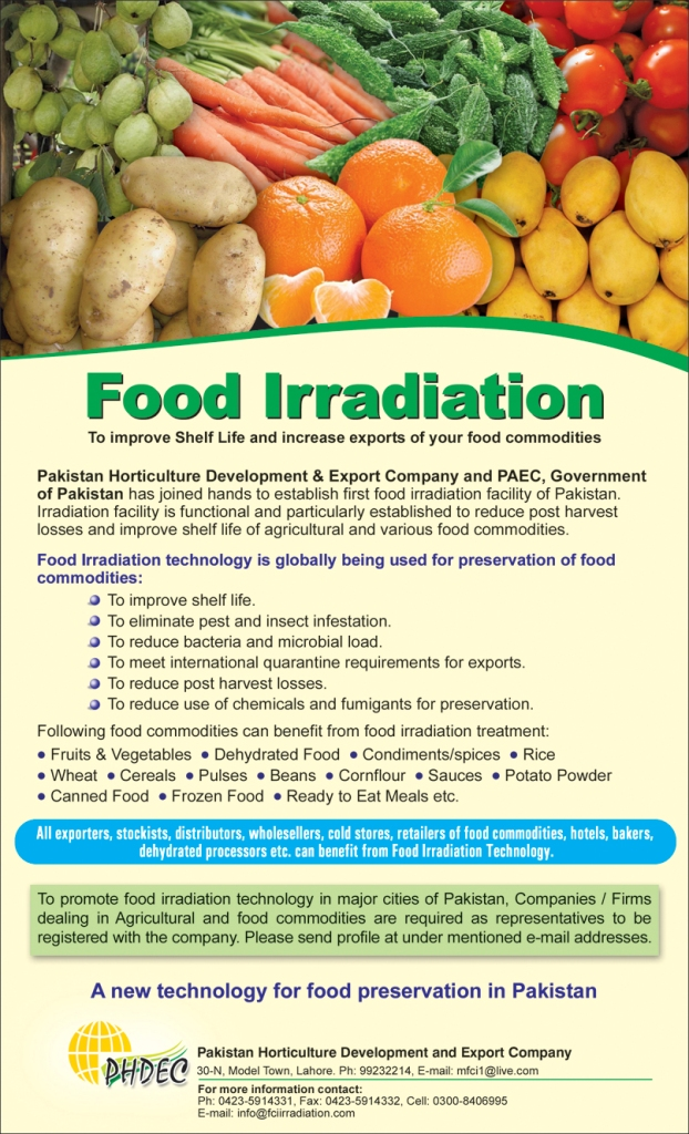 Marketing Of PARAS FOODS (PVT) LTD. Is Outsourced To FAIZAN COMMUNICATION INTERNATIONAL