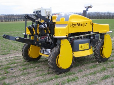 Robot farm workers take to the fields