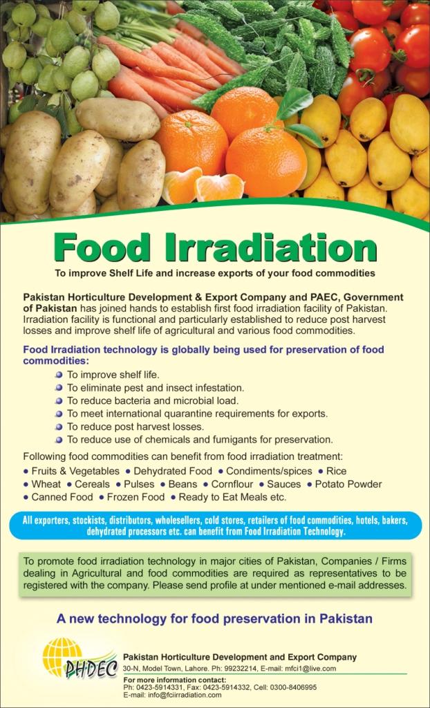 Marketing Of PARAS FOODS (PVT) LTD. Is Outsourced To FAIZAN COMMUNICATION INTERNATIONAL