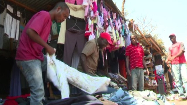 How second-hand clothes kill business for Malawi's tailors