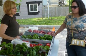 Rolling out a new kind of farmers' market