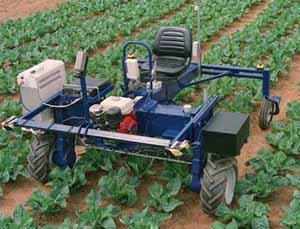 Autonomous Crop Treatment Vehicle